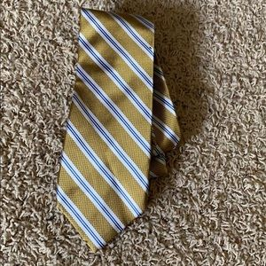Men's striped tie